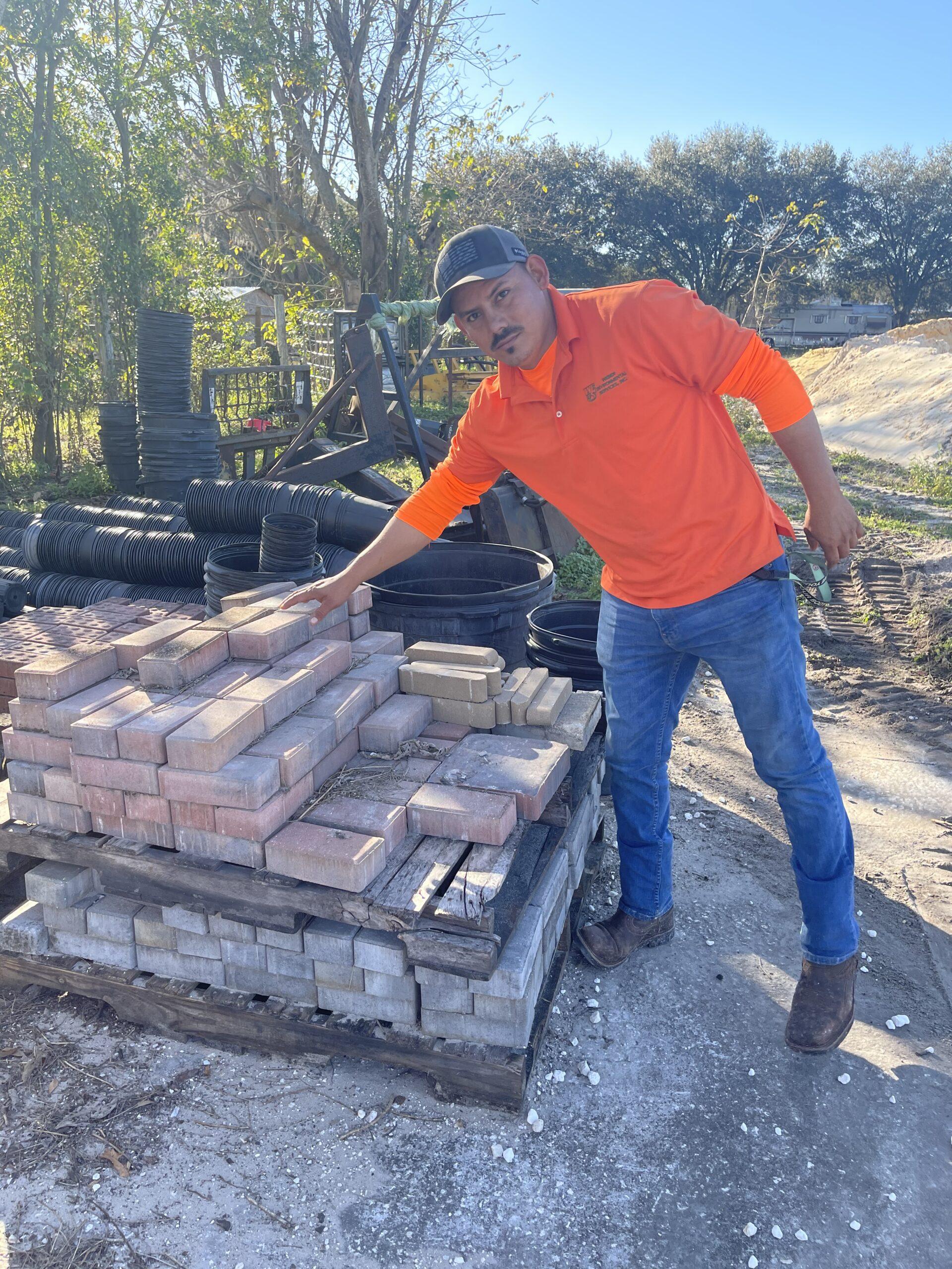 weber environmental services - brick paver installation