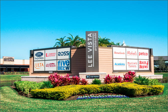 Lee Vista - shopping centers - Weber Environmental Services