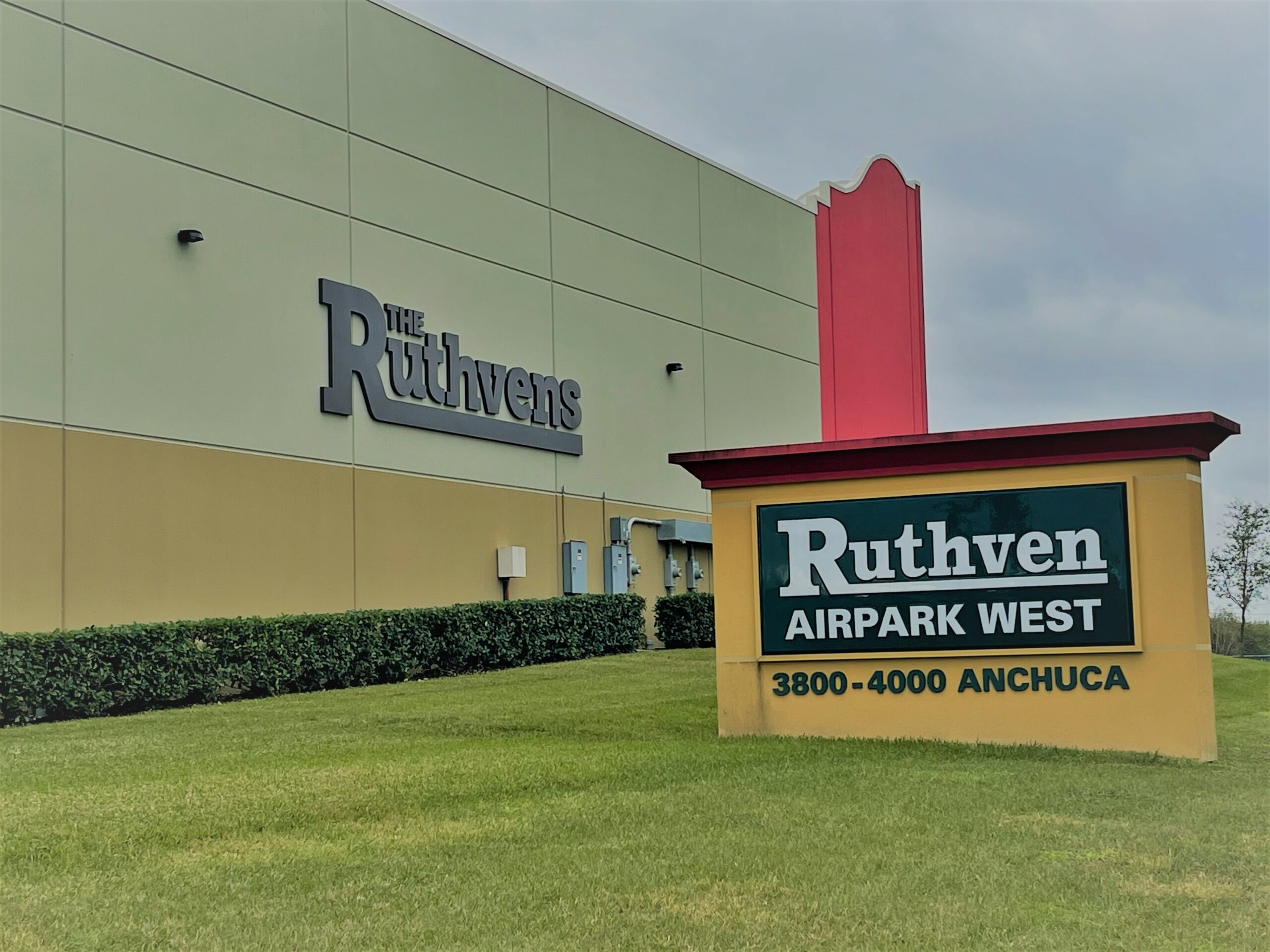 Ruthven - weber environmantal services - industrial complex landscaping